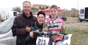 Fabio Santecchia, piccolo tolentinate si distingue nel mini motocross